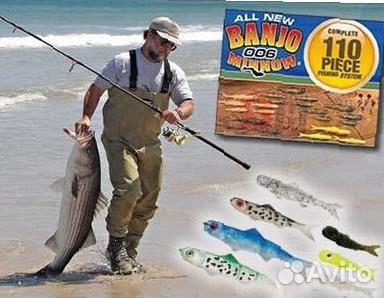 банджо для рыбалки своими руками