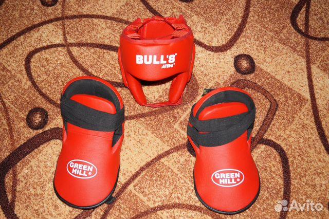 Шлем боксерский+ защита стопы 89205676920 купить 1