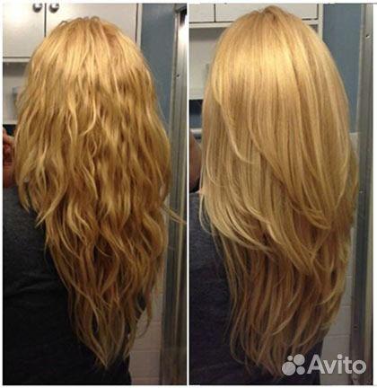 Как самой сделать каскад на длинные волосы