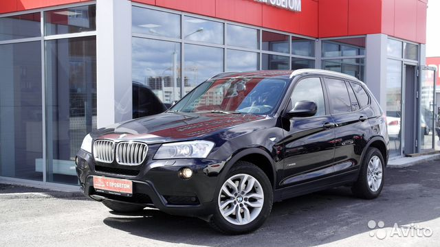 Продажа bmw x3 ii (f25) 20d at (184 лс) 4wd в москве