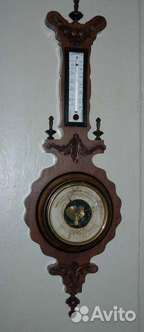Термометр для воды старинный винтаж якорь поплавок
