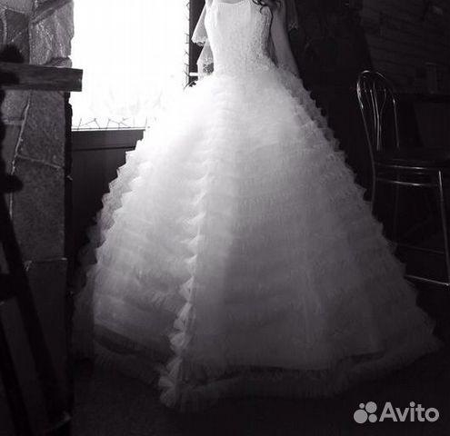 Объявление о продаже Свадебное платье в Краснодарском крае на AVITO.ru.  Продам красивое свадебное платье куплено в г...