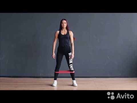 Резина для тренировок (фитнеса и спорта) – набор из 4 шт