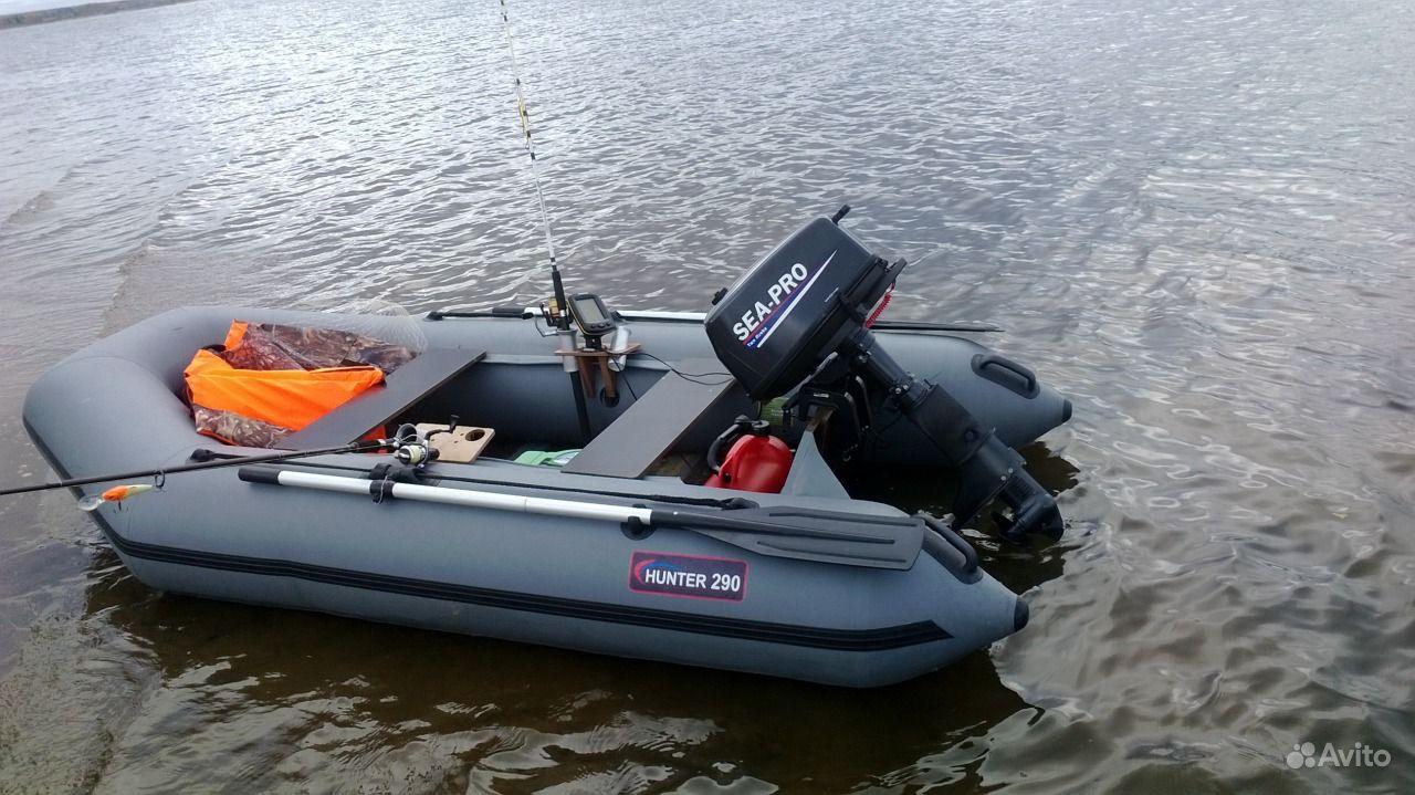 мотор на лодку на авито