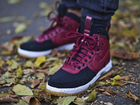 Кроссовки Nike Air Force 1 Duckboot red Black