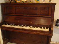 Концертное антикварное пианино, Германия, 19 век