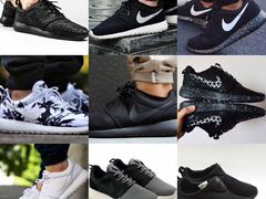 Nike roshe one + run 35-46 размер