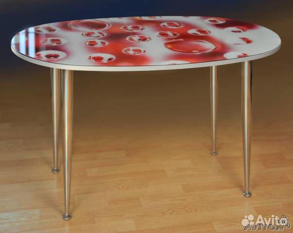 Кухонный стол с фотопечатью