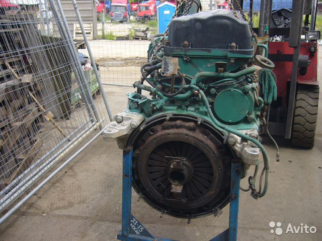 двигатель d9b volvo