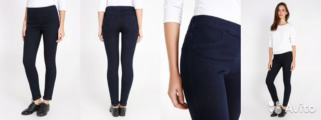 джинсы с узким низом, для подростков