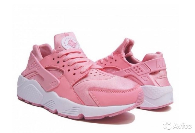 4cbb32c71426 nike huarache pink