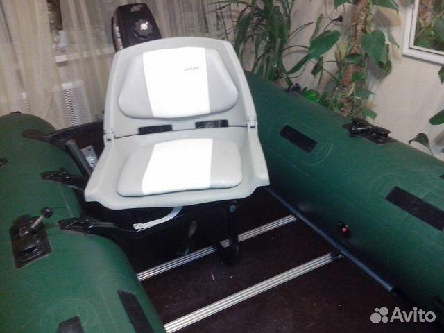 кресло на лодку с поворотной платформой