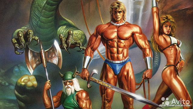 Golden Axe (русская версия) sega— фотография №1