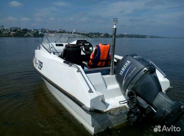 лодка моторная с каютой купить