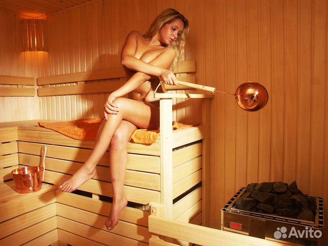 В бане голяком