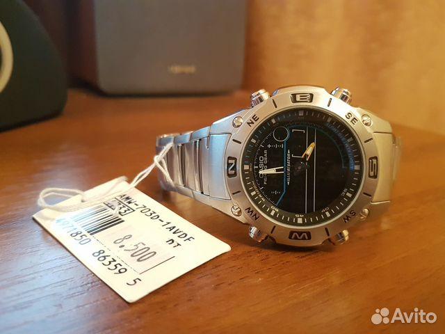 Часы Casio AMW-703D-1AV - мечта рыбака