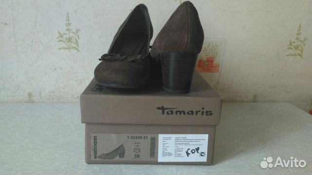 024a32c32 Туфли Tamaris (Тамарис) р 38 купить в Московской области на Avito ...