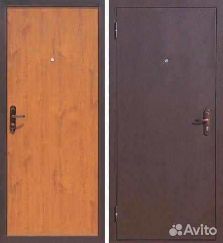 входная стальная атмосферостойкая дверь