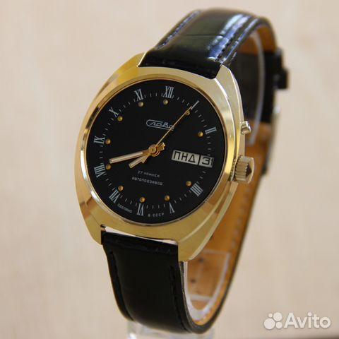 9c4d3d733df7 Слава наручные механические часы Винтаж   Festima.Ru - Мониторинг ...