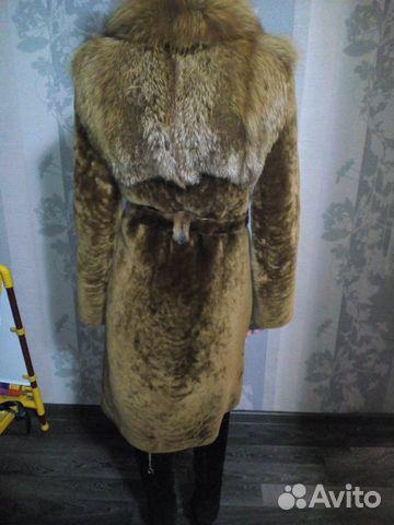 Шуба мутон и лиса 89203666139 купить 3