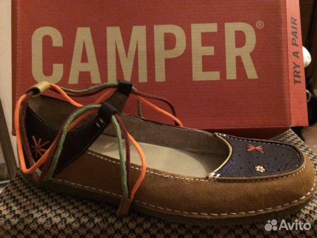 461998bdf Новые замшевые туфли Camper (Экко) купить в Нижегородской области на ...