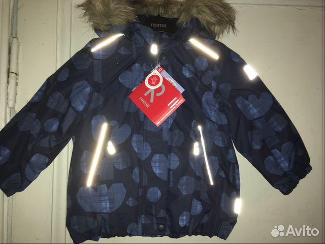 Новая зимняя куртка reima TEC 2 снежинки 98+ купить в Санкт ... fe14a0645b5