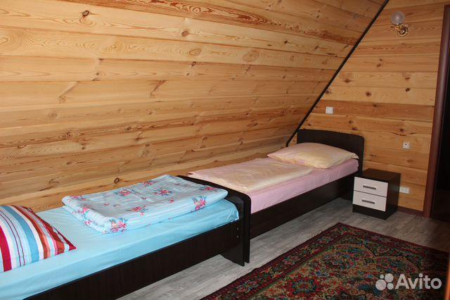 Stuga 140 m2 på en tomt på 9 celler.