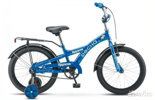 Велосипед Десна Дружок 16д. синий