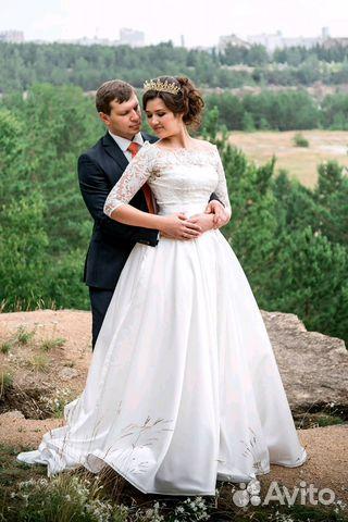09e64ea0b2e Свадебное платье (атлас