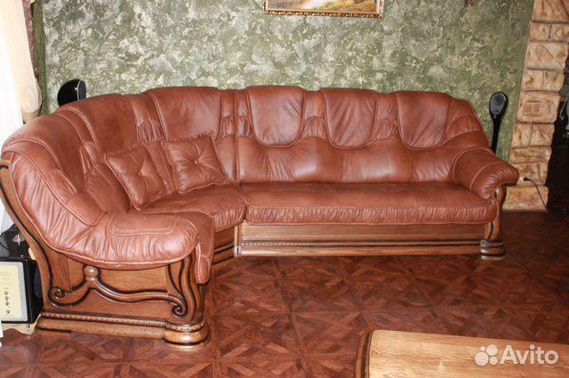36cff3b148d7 Продам кожаный диван купить в Республике Крым на Avito — Объявления ...