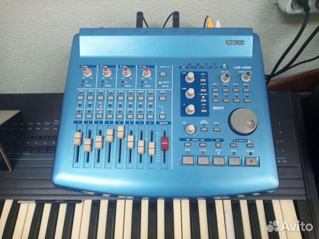 Tascam US-428 звуковая карта, миди-контроллер 89139767854 купить 1