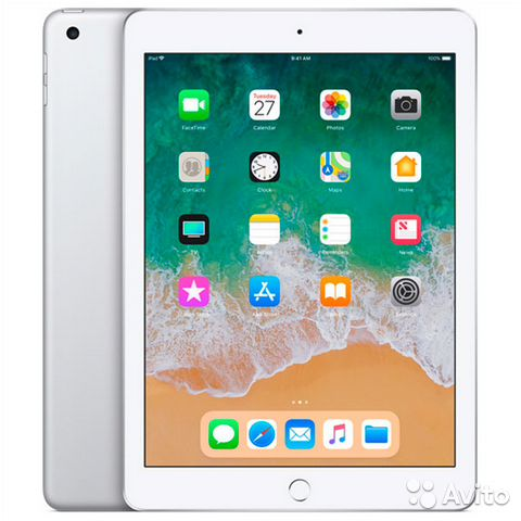 Планшет Apple iPad (2018) 32Гб Wi-Fi Серебро