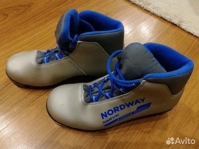 Лыжные детские ботинки размер 36 купить в Московской области на ... 8ec4e54559f