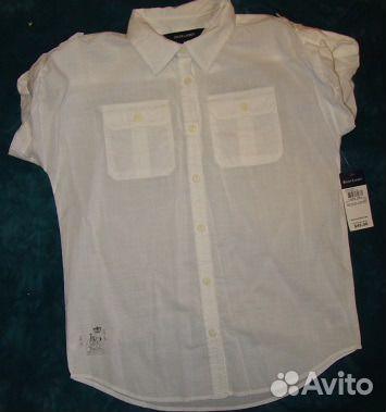 a045d81b261 Новая белая рубашка на девочку 146+ купить в Санкт-Петербурге на ...