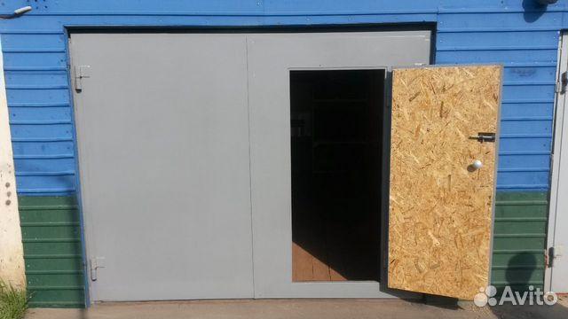 Купить распашные ворота в гараж схема сборки металлического гаража красное сормово