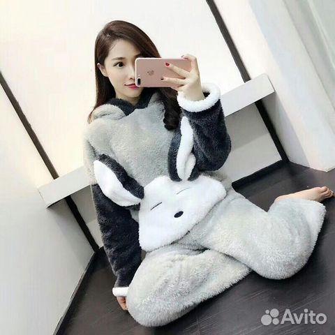 Пижама Кигуруми Заяц Штаны+Кофта  d8e8ace03b05c
