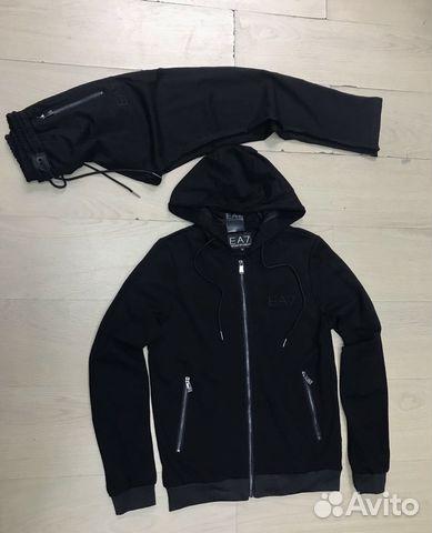 8337cc5c0172 EA7 Emporio Armani мужской спортивный костюм купить в Москве на ...