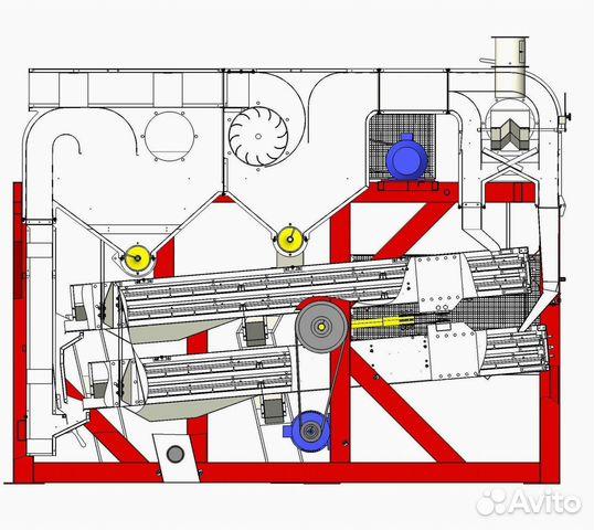 Зерноочистительная машина мзу-80-40-20 89275271145 купить 8
