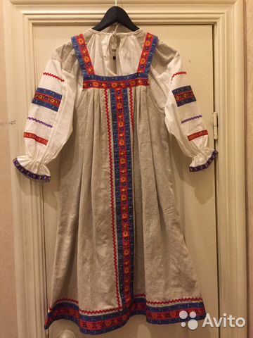 a760d022207 Русский народный костюм  рубаха и сарафан