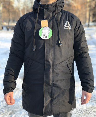 af37cb577f34 Зимняя куртка мужская Reebok   Festima.Ru - Мониторинг объявлений