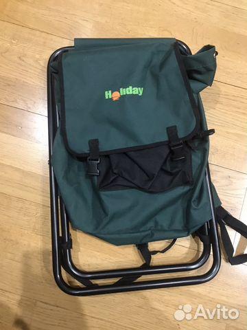 Стул-рюкзак рыболовный купить в Санкт-Петербурге на Avito ... 4abf11b82f7