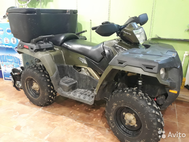Продам квадроцикл Polaris Sportsman Touring 500 HO— фотография №1