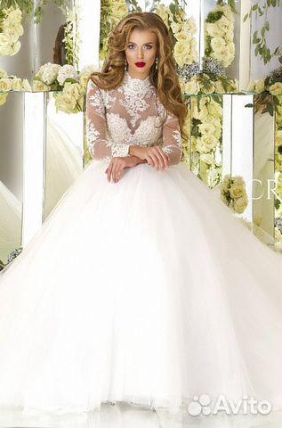 63cd53f1f3a Свадебное платье с завышенной талией