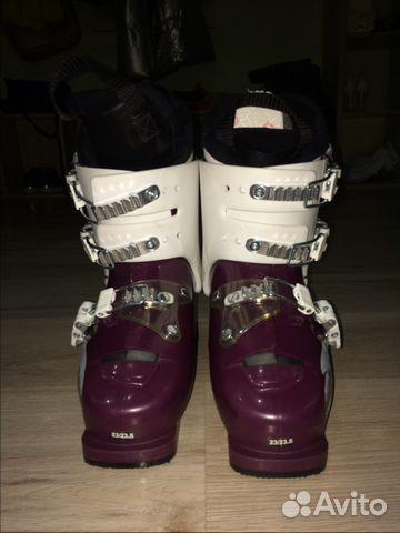 Продам детские горные лыжи и ботинки купить в Краснодарском крае на ... d6d111adf27