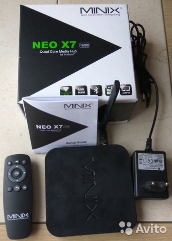 TV BOX minix NEO X7