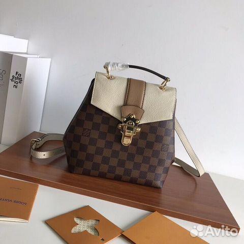 9582a638d0b0 Рюкзак женский Louis Vuitton классика купить в Москве на Avito ...
