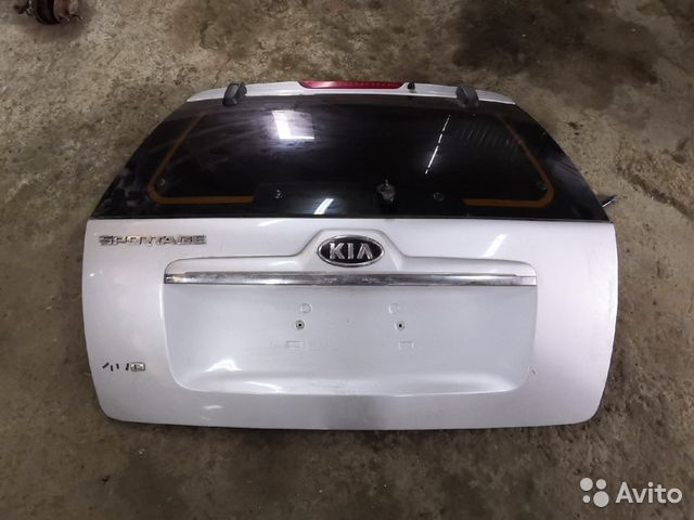 89226688886 Крышка багажника (Kia Sportage)