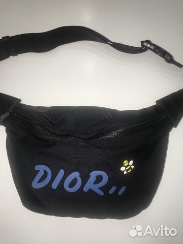ddab4fd5ca31 Поясная сумка Dior X Kaws купить в Москве на Avito — Объявления на ...
