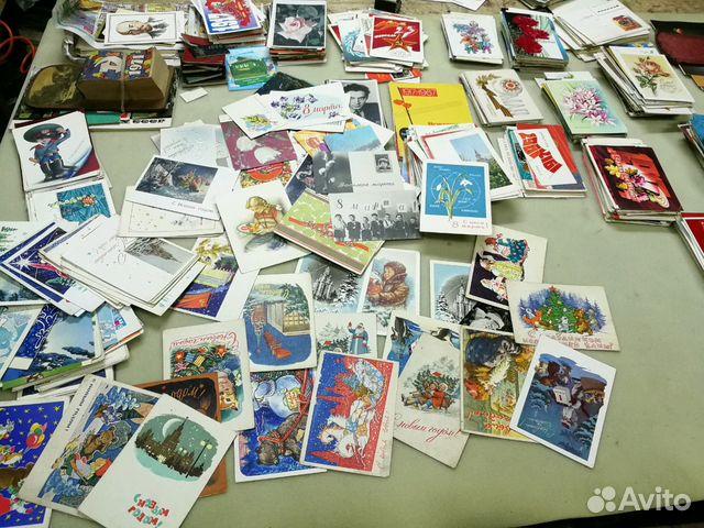 Авито коллекционирование открытки