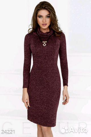 Платье теплое 89617816617 купить 1